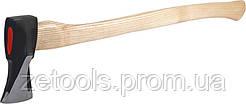 Сокира (колун) з дерев'яною ручкою 2700гр. Miol 33-100