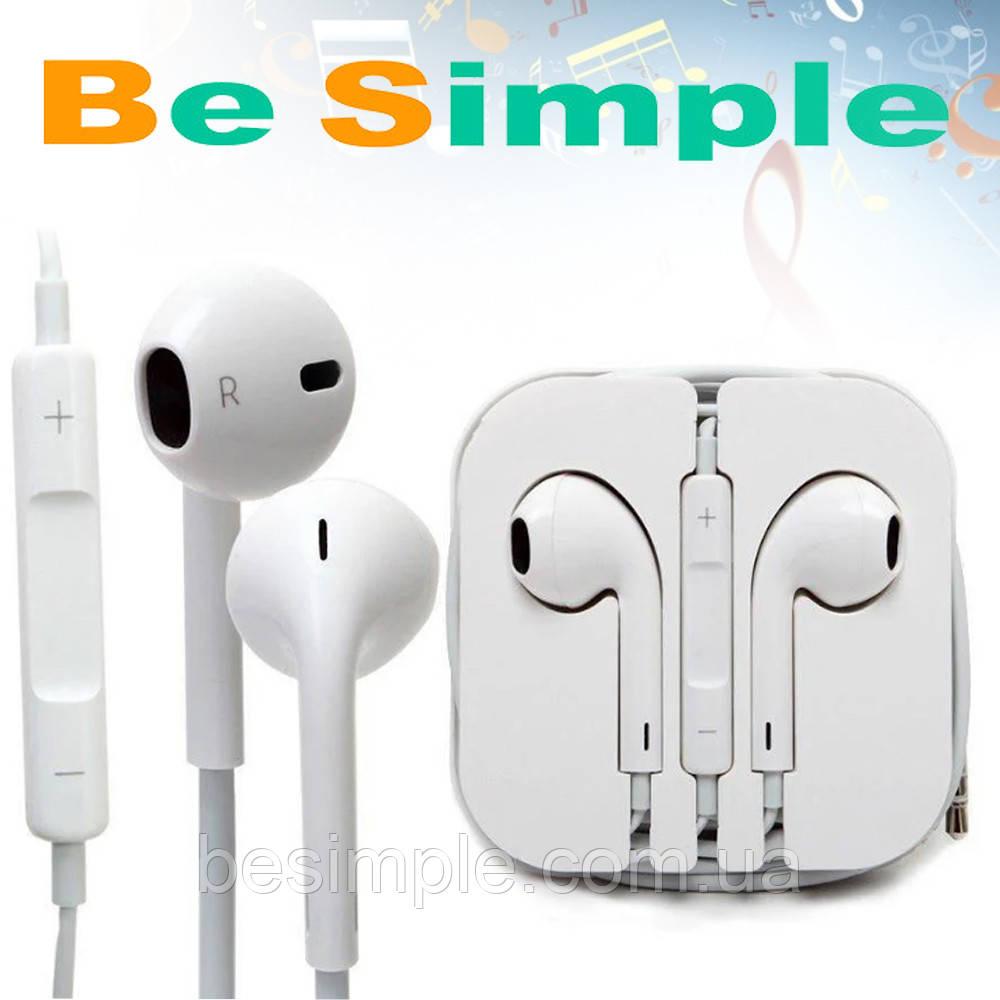 Наушники Apple iPhone / Ipod / Ios / Android
