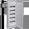 Щит для скрытого монтажа с металическими дверцами, без клемм,на 60(70) модулей VOLTA Hager (VU60UA)