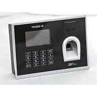 Сетевой биометрический терминал учета рабочего времени по отпечатку пальца ZKTeco TK100-C