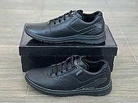 Кожаные кроссовки мужские Gerard 250 ч размеры 40,41,42,43,45, фото 1