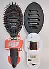 Расчёска для волос La Rosa массажная пластмассовая продувная 25 см LR-5057, фото 3