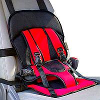 Бескаркасное автокресло детское кресло для авто Mylti Function Красное