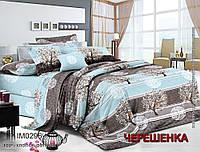 """Двуспальный набор постельного белья 180*220 из Бязи """"Gold"""" №154089 Черешенка™"""