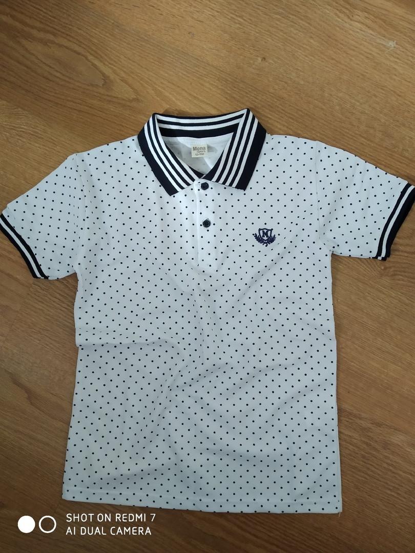 Стильная футболка поло для мальчика подростка