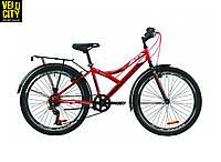 """Велосипед 24"""" Discovery FLINT vbr с багажником"""