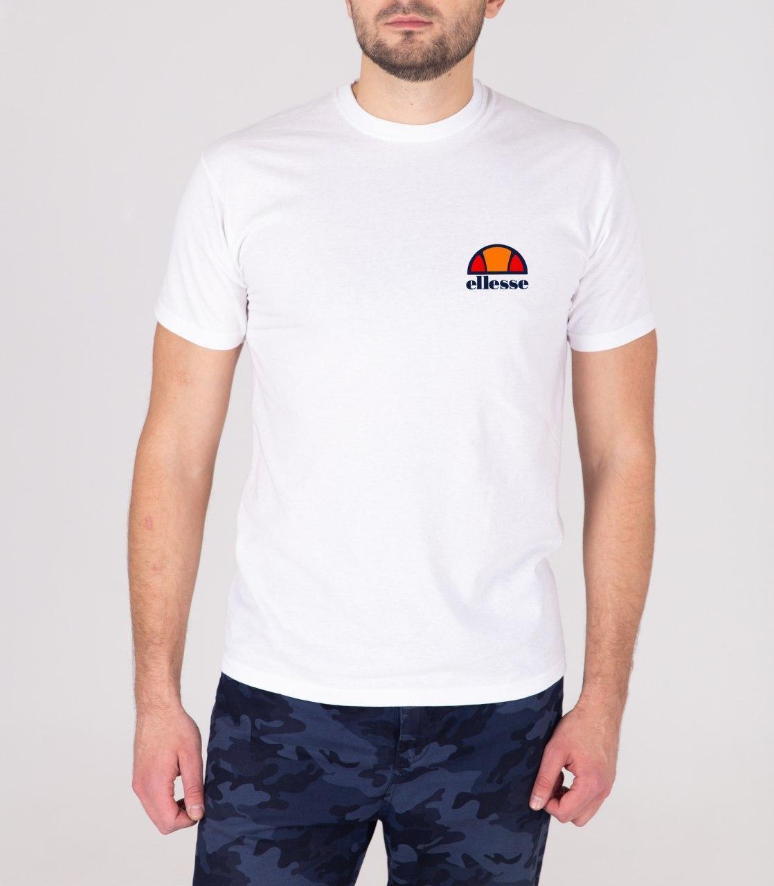 Мужская футболка белая Ellesse (копия)
