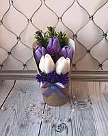 Букет из тюльпанов № 6