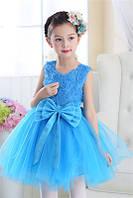 Детское нарядное платье и подьюбник 3-5 лет