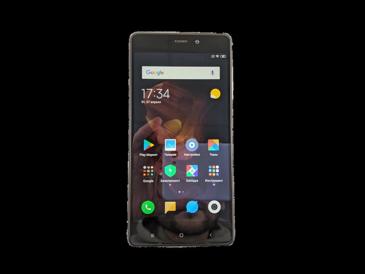 Xiaomi Redmi 4 Prime 3/32GB Gray Grade C Б/У