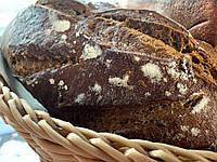 Хлеб ржаной бездрожжевой с курагой и орехами доставка