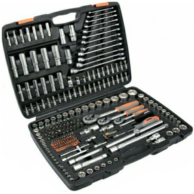 Набор головок ключей инструментов   STHOR216 ед