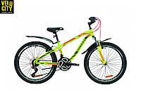 """Велосипед 24"""" Discovery FLINT AM vbr салатово-красный"""