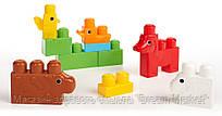 Детский Игровой Развивающий Увлекательный Набор фигурок животных Ферма 11 деталей Mega Bloks First Builders
