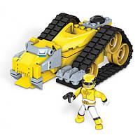 Детский Игровой Конструктор для мальчиков Зорд Тигр с фигуркой 74 детали Mega Bloks Power Rangers Megaforce