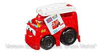 Детский Игровой Конструктор Пожарная машина с фигуркой пожарного Фредди 6 деталей Mega Bloks First Builders