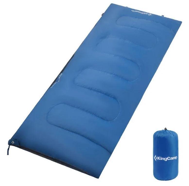 Спальник KingCamp Oxygen KS3122, темно-блакитний