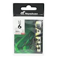 Крючок Hayabusa L-1 №6 (10шт) (крючок № 6)