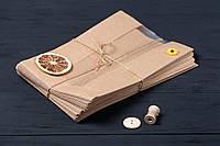 Бумажный пакет с окном 180 мм *50 мм *275 мм