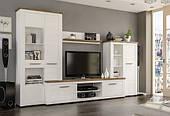 Стенка гостиная Мебель-Сервис Монтреал 315х45х200 см белая лдсп