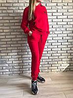 Спортивный костюм женский трикотаж PHILIPP PLEIN красный размер 46 48 50
