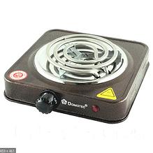 Плита настольная электрическая Domotec 1000 Ватт для кухни, дачи, дома