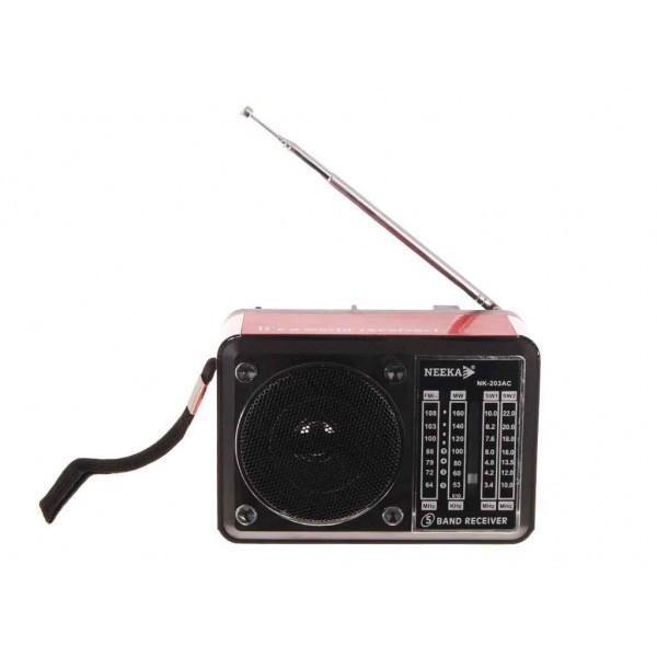 Радиоприемник Neeka NK 203AC (216858)