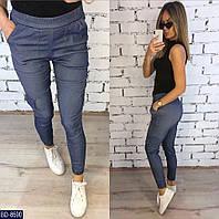Летние котоновые модные женские брюки арт 215