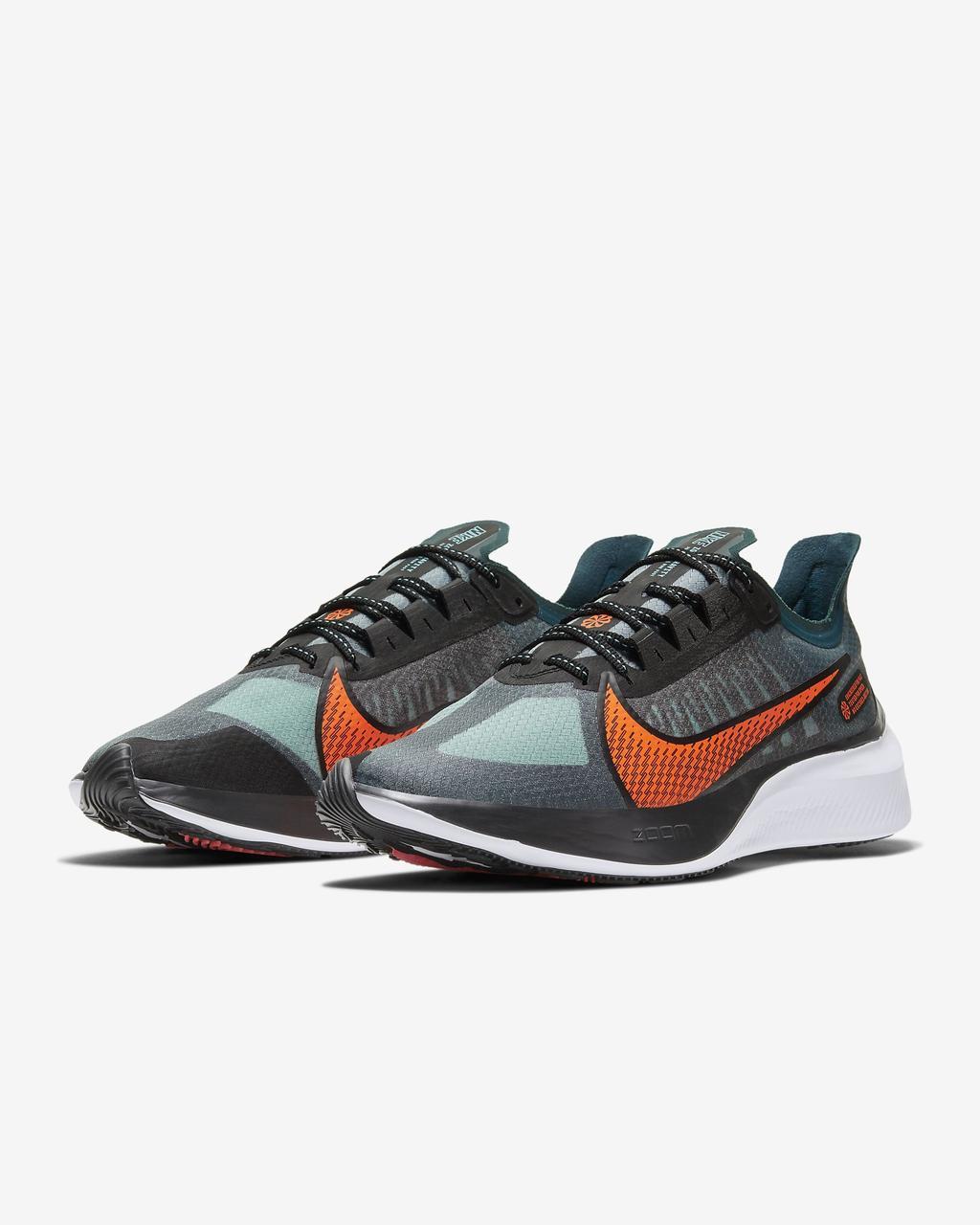 NIKE ZOOM GRAVITY Оригинальные беговые кроссовки бирюзовые оранж сетка мужская обувь большой размер BQ3202-300
