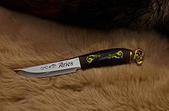 Красивые ножи из сталей 40Х13, 95Х18, 9Х, N690, Х12МФ, К110, ДИ-90