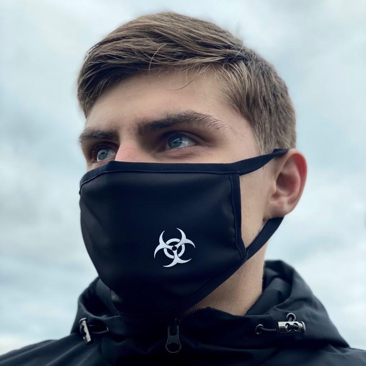 Защитная маска черная Virus