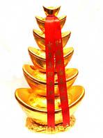 Пирамида из шести чаш изобилия 42х24х14см.
