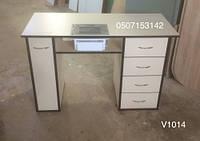 Удобный маникюрный стол с вытяжкой Teri Turbo,  Модель V452/1014