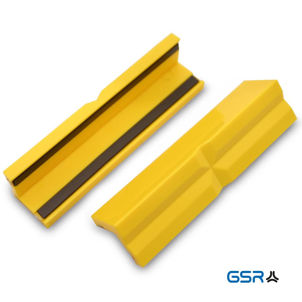 Змінні захисні пластикові губки на лещата, з магнітом комплект 2 шт. GSR Німеччина