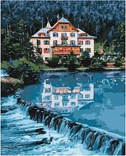 Картина за номерами Будинок мрії