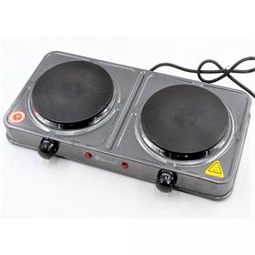 Электроплита 2 комфорки 2000 Вт Domotec MS-5822  5 режимов работы (44628)
