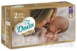 Подгузники Dada 2 extra care  (3-6 кг) 43 шт.
