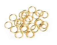 Пирсинг для волос кольца 10 мм золото