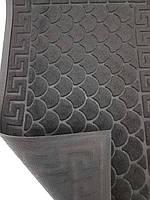 Придверний килимок 45х75см.чорний., фото 1