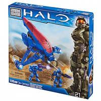 Детский Игровой Конструктор для мальчиков Привидения в голубом Ковенант 2 фигурки и 109деталей Mega Bloks Halo
