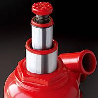 Гидравлический домкрат бутылочного типа низкопрофильный двухштоковый 2т 150-370 мм TORIN TF0202