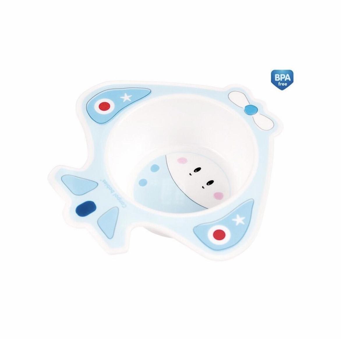 Тарелка глубокая принцесса,самолет,мишка  Canpol 56/009