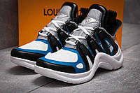 Кроссовки женские 13454, Louis Vuitton Archlight, темно-синие, < 37 38 > р.37-23,8