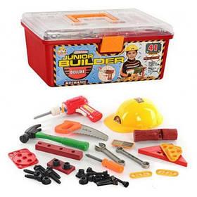 Детский Игровой Набор Инструментов MToys + Чемодан, 41 деталь (2058)