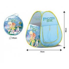 """Детская Игровая Палатка Joy Toy """"Frozen"""" с сумкой (HF011)"""