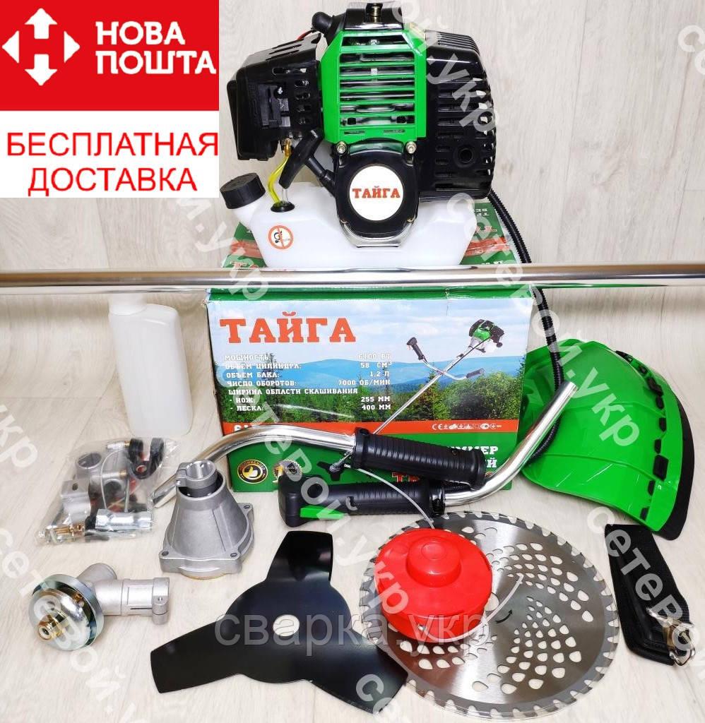 Бензокоса Тайга ТБТ-6100 (2 ножа 1 катушка)