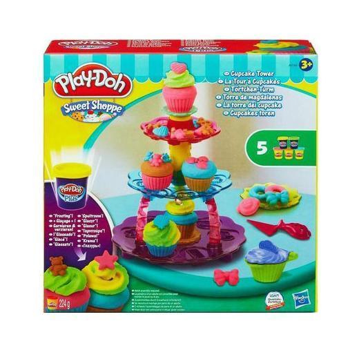 """Play-Doh-Плей-До Набір пластиліну """"Башту з кексів"""""""