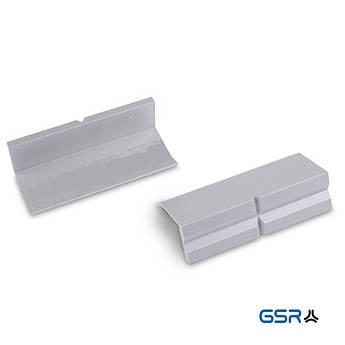 Змінні захисні алюмінієві губки на лещата, без магніта комплект 2 шт GSR Німеччина