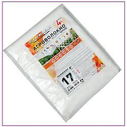 Агроволокно пакетоване 17 г/м2 біле 1.6х5 метрів