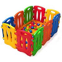 Детский игровой манеж бассейн для шариков мячиков Nova 543447 для детей (дитячий басейн для шариків мячиків)